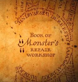 Book of monster's repair workshop