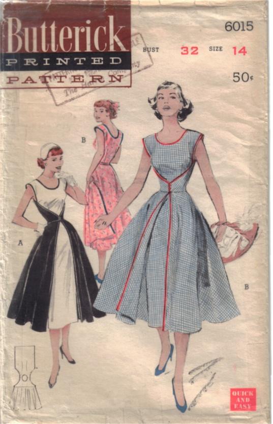Прямые формы конца 50-х годов плавно переходят в моду ранних 60-х.Мода...