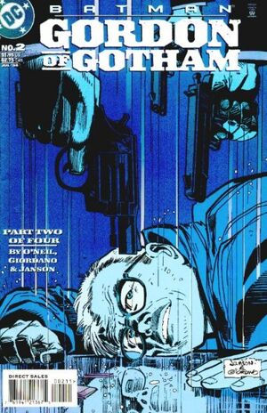 Cover for Batman: Gordon of Gotham #2