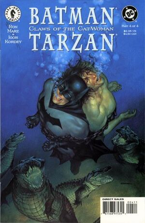 Cover for Batman/Tarzan: Claws of the Cat-Woman #4