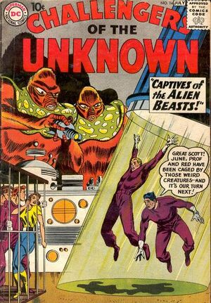 Cover for Challengers of the Unknown #14