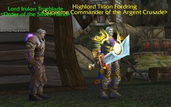 Trueblade and Fordring