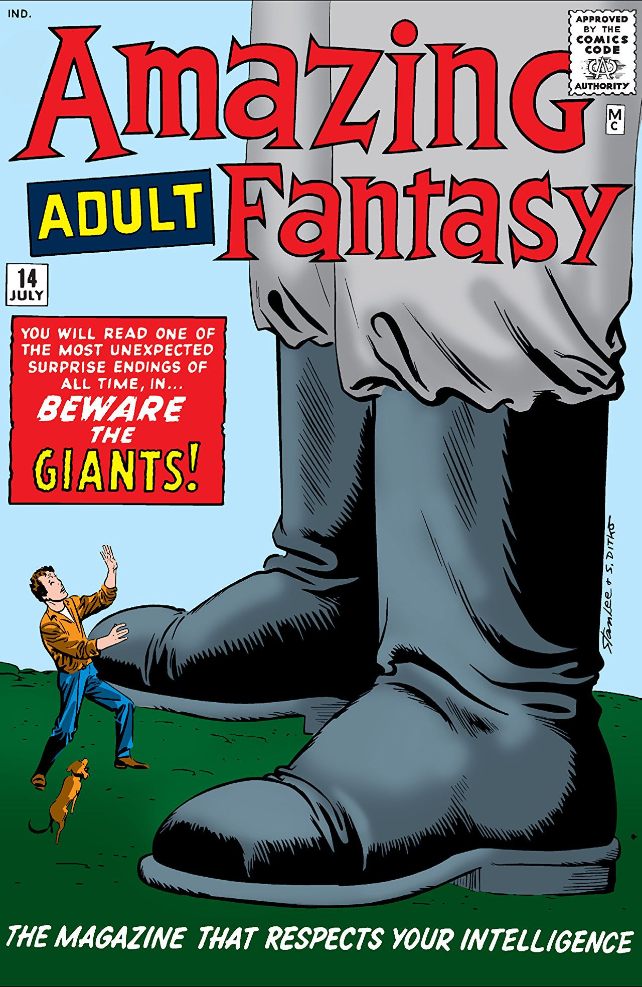 Amazing Adult Fantasy Vol 1 #14