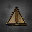 Obsidian Node Pyramid Icon