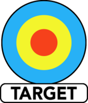 Target Books logo