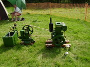 Fowler stationary engine