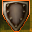 Fiery Shield Icon