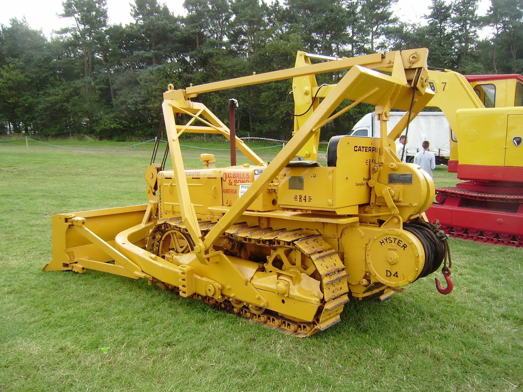 Old Caterpillar Tractors