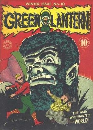 Cover for Green Lantern #10