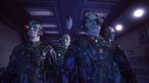 Borg aboard Enterprise (NX-01)