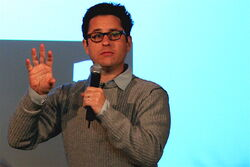 J.J. Abrams speak at the Apple Store SoHo
