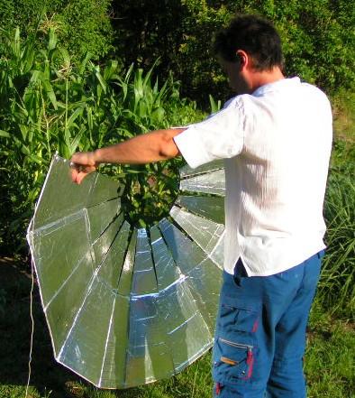 Planos para la construcci n de cocinas solares cocina solar for Planos para cocina solar parabolica