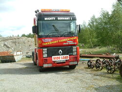 Renault Magnum tractor unit