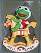 Enesco1984BabyKermitOrnament