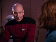 Picard beverly crusher talking - evolution