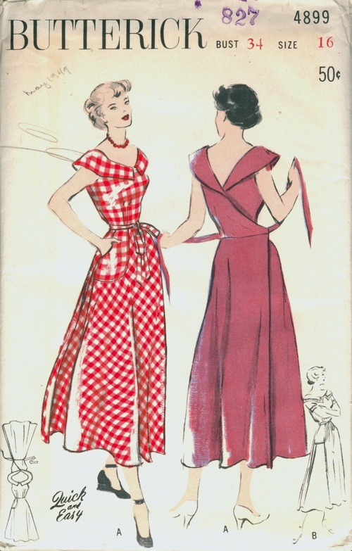 Butterick 4899 Vintage Sewing Patterns