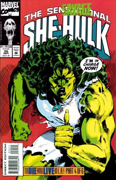 Sensational She-Hulk Vol 1 55 - Marvel Comics Database