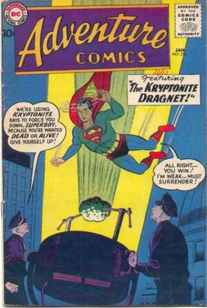Cover for Adventure Comics #256