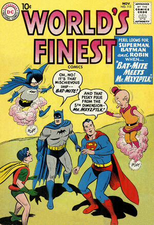 Cover for World&#39;s Finest #113