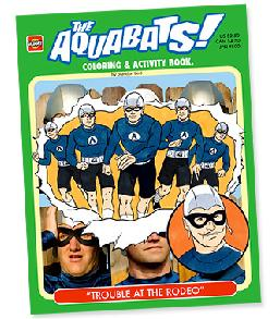 aquabats coloring pages - photo#29