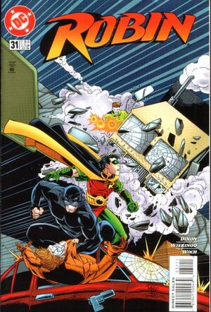 Cover for Robin #31