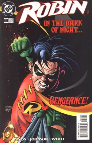 Cover for Robin #60