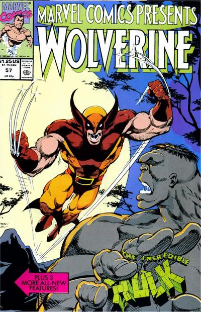 Marvel comics presents 132 marvel marvel comics wolverine