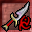 Red Rune Silveran Dagger Icon