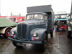 Morris Commercials RAF truck