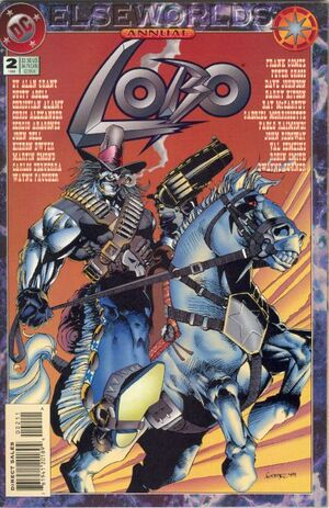 Cover for Lobo Annual #2