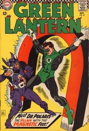 Cover for Green Lantern #47