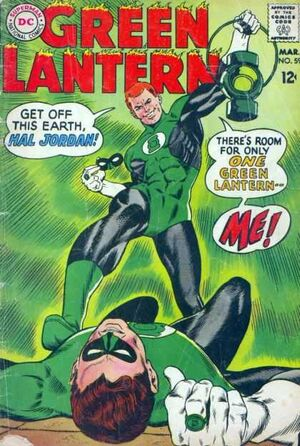 Cover for Green Lantern #59