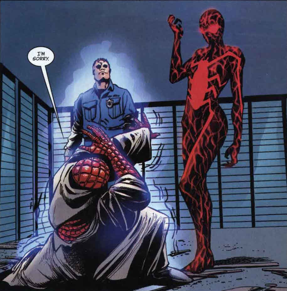 FILHOS DOS HEROIS - MARVEL - Página 2 May_Parker_(Earth-9997)_Pwns_Spiders_Man