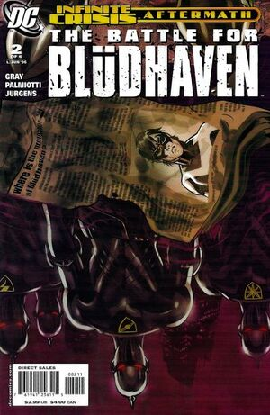 Cover for Battle for Blüdhaven #2