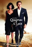 James Bond- Quantum of Solace Theactrical Poster