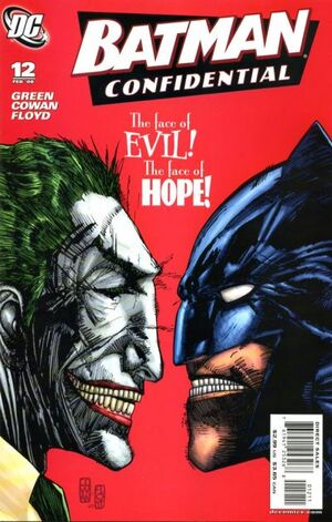 Cover for Batman Confidential #12 (2008)
