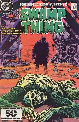 Cover for Swamp Thing #36