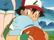 EP012 Ash y Squirtle abrazndose