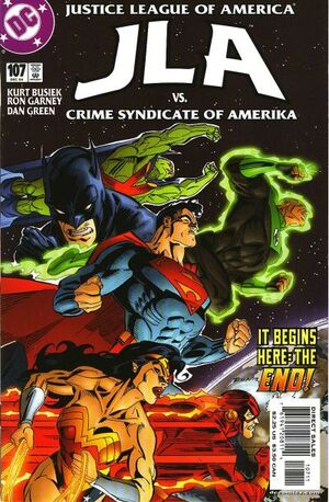 Cover for JLA #107