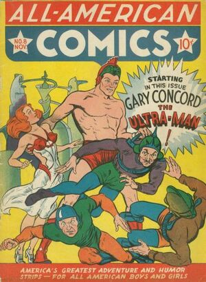Cover for All-American Comics #8