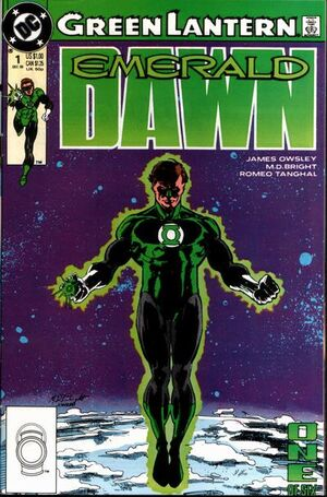 Cover for Green Lantern: Emerald Dawn #1 (1989)