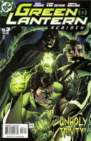 Cover for Green Lantern: Rebirth #3