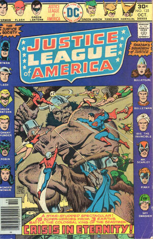 Cover for Justice League of America #135