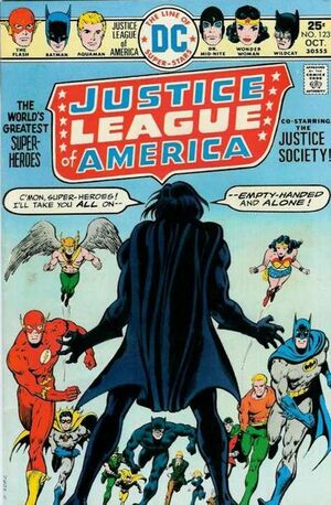 Cover for Justice League of America #123