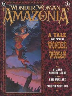 Cover for Wonder Woman: Amazonia #{{{Issue}}}