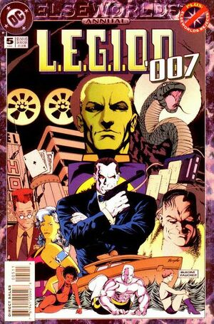 Cover for L.E.G.I.O.N. Annual #5