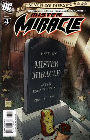 Cover for Seven Soldiers: Mister Miracle #4