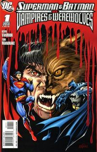 Superman Batman Vampires Werewolves 1