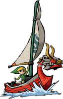 Link and the King of Red Lions Artwork