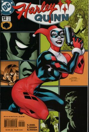 Cover for Harley Quinn #12